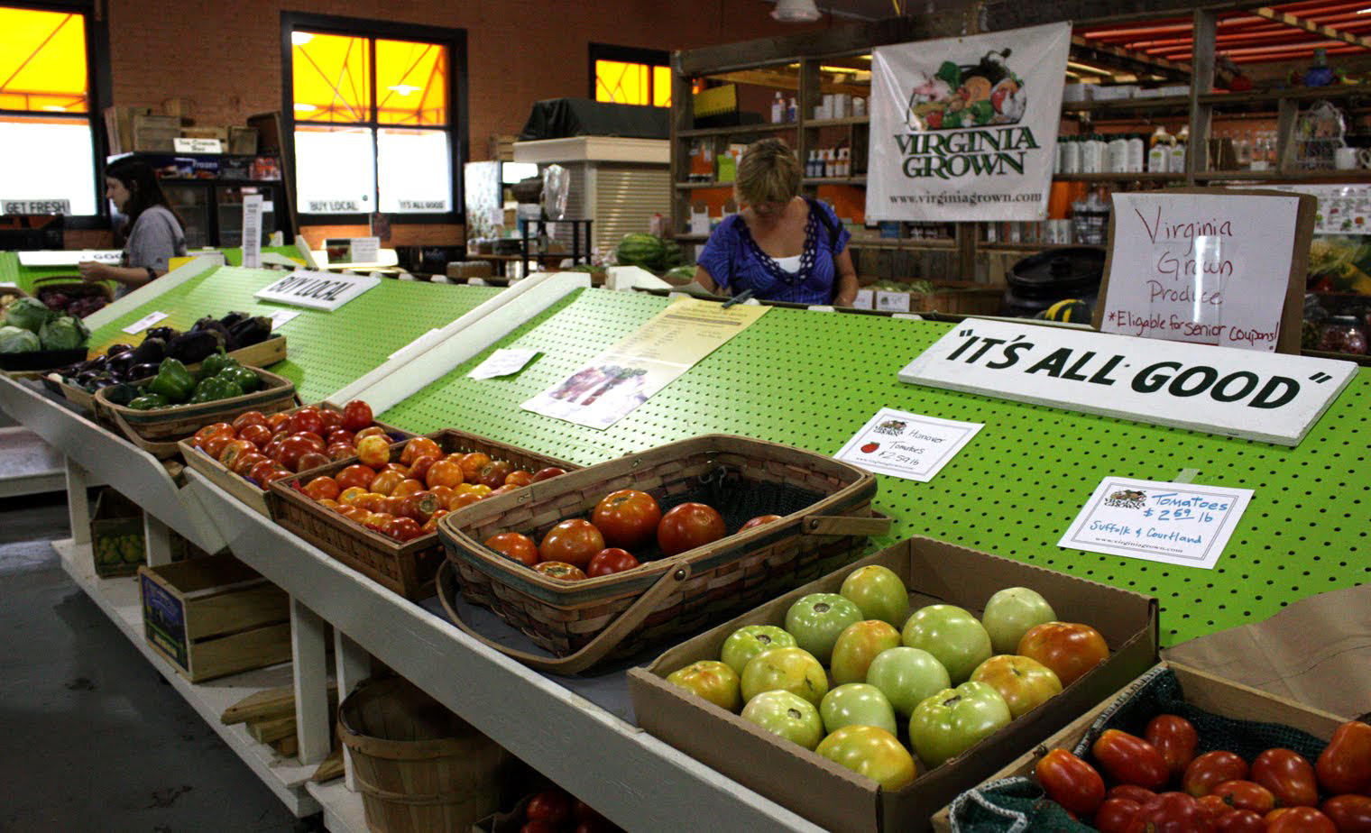 The Five Points Market is one of Norfolk's original farmers markets. A community run non-profit, Five Points is always evolving with its offerings of locally grown farm produce and products.