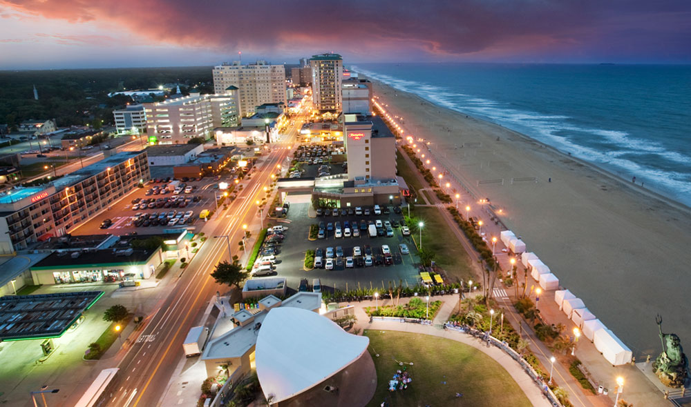 Yes, the Virginia Beach boardwalk is a tourist trap. But if you're looking for a romantic stroll by the sea in the off season, it has infinite charms. Exciting seaside festivals and Holiday Lights at the Beach make this a great first date destination.