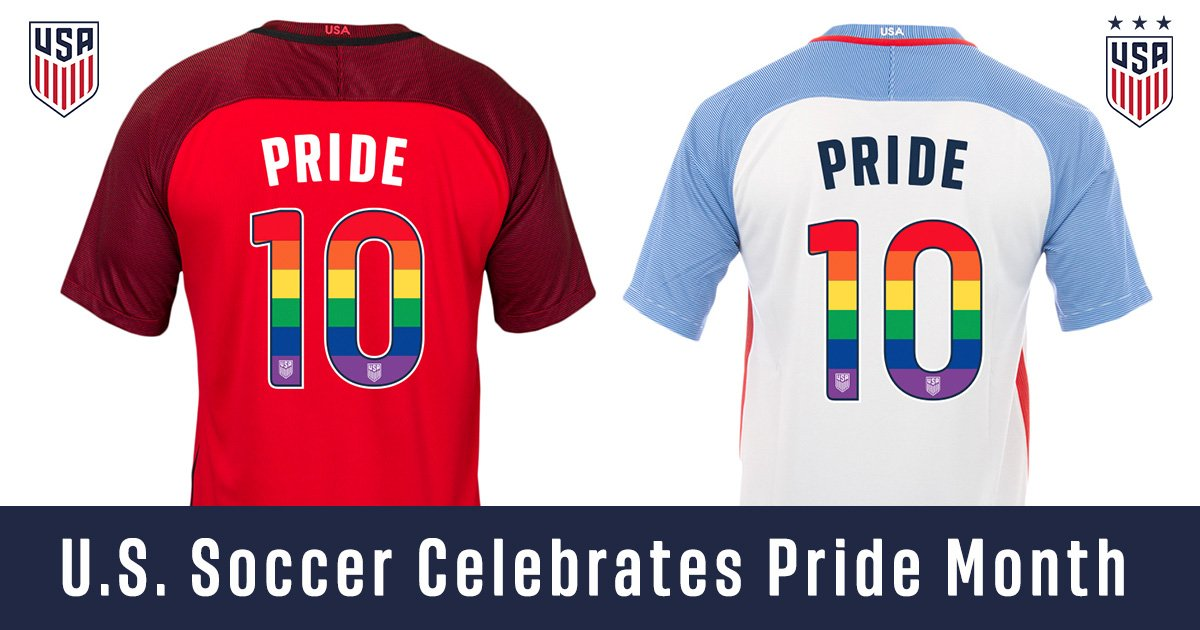 0cc94aae2 In recognition of LGBTQ Pride month in June, U.S. Soccer will activate a  number initiatives in partnership with the You Can Play Project, along with  the ...